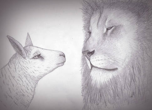 Lion And Lamb In Love