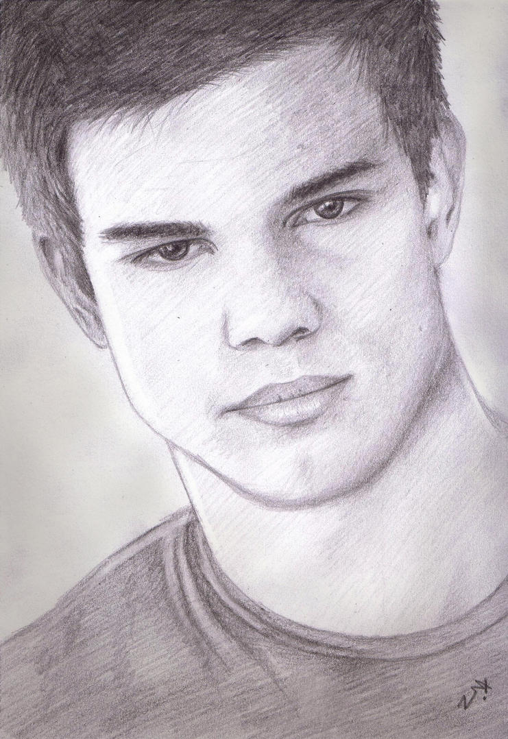 Taylor Lautner - New Moon by Naomeart