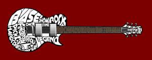 Typography: Guitar by xXLOLDAXx
