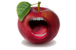 THE MIGHTY APPLE MOUTH by xXLOLDAXx