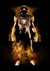 Photomanipulation: Football Flamer by xXLOLDAXx