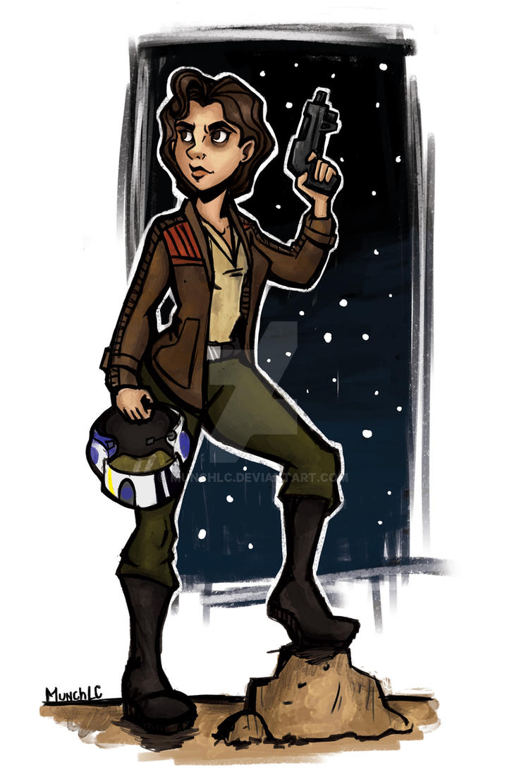 Female!Poe Dameron by MunchLC