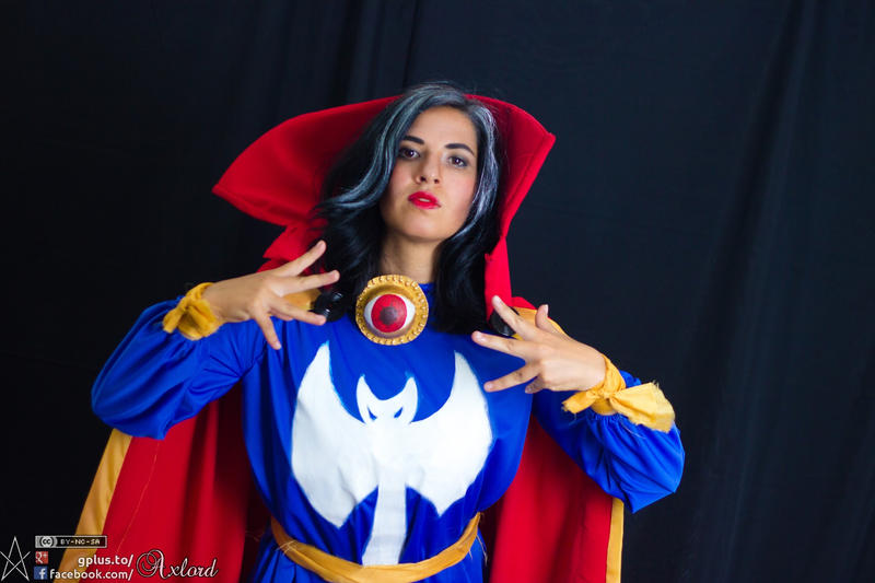 The eye of Agamotto by MunchLC