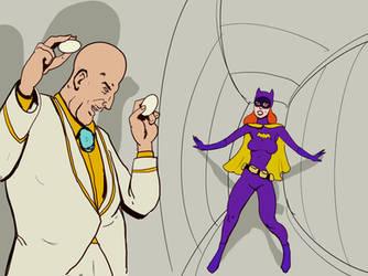 Egghead And Batgirl