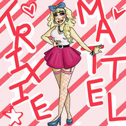 Trixie Mattel by nightmare43yume