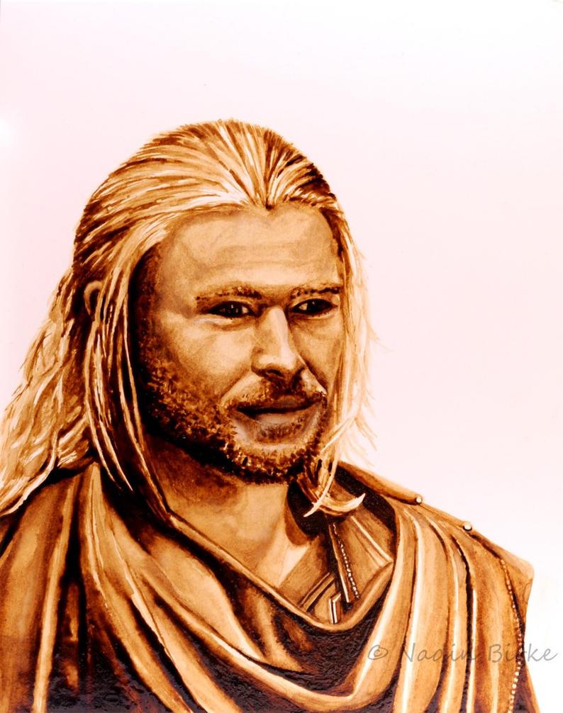 You take milk and sugar, Thor? by nadinmadeamess