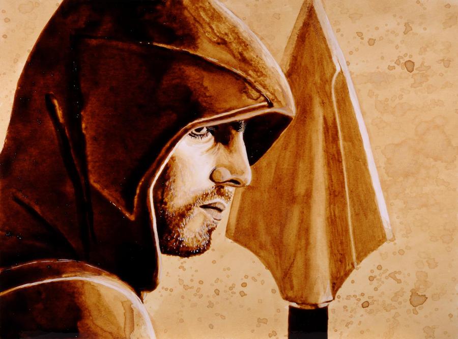 The Green Arrow by nadinmadeamess