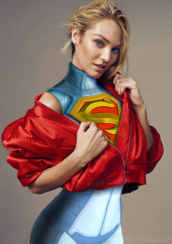 Candice Swanepoel as Supergirl Injustice 2
