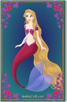 Rapunzel as a Mermaid