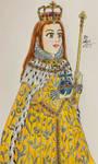 Coronation of Elizabeth I by sallyxwang