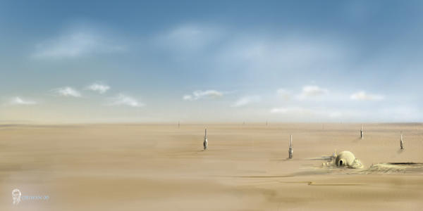 Tatooine by Obiwan00