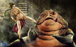 Leia vs. Jabba
