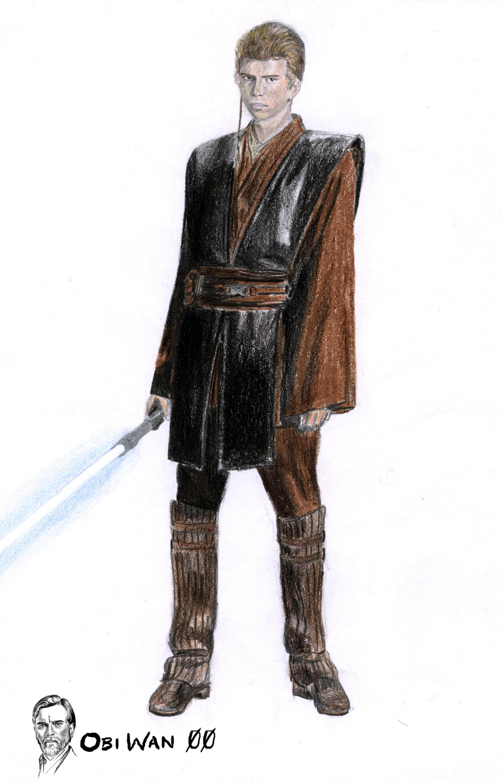 Anakin Skywalker episode 2 by Obiwan00 on deviantART