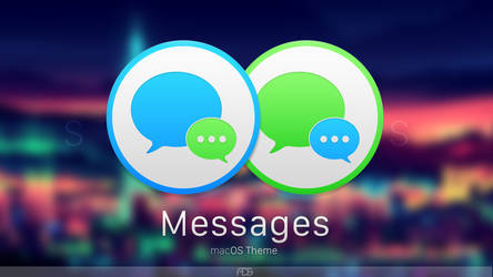 StylemacOS : Messages by iAdams93