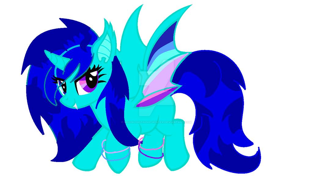Mlp Base 16 Vampire Fruit Bat Pony By Pumpkinpie By