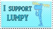 Stamp - I Support Lumpy