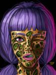 Trypophobia Girl