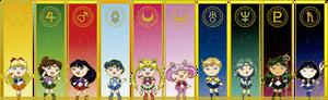 Chibi Pretty Guardian Sailor Moon
