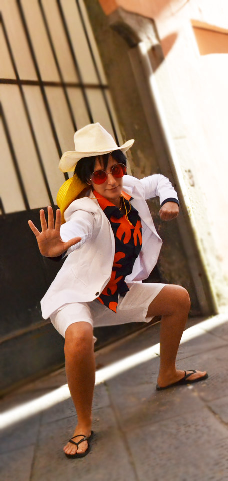 Monkey D. Luffy - One Piece Gold cosplay (2) by Cherryliciousss