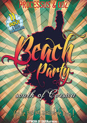 Processus Records - Beach Party by o-n-i-r-i-k