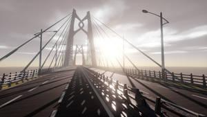 [MMD Stage DL]Hong kong-zhuhai-macao bridge/Huaan