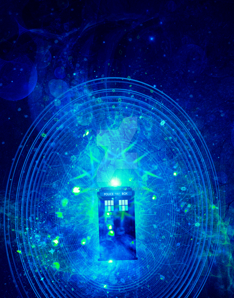 TARDIS series - The Sixth Doctor (blue version) by girl-withagun