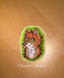 Lil' wolf badge by TosaabituTseena