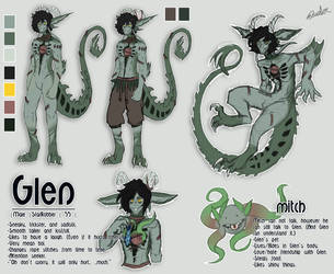 Glen reference sheet by Surfer-Velocity