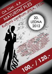 Poster - Maturitni OA TGM by 1janjann