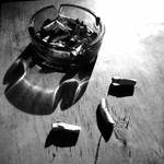 cigarettes and ashtray by SatenkoDmitry