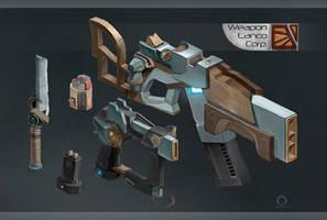 Weapon Lanco Corporation by SatenkoDmitry