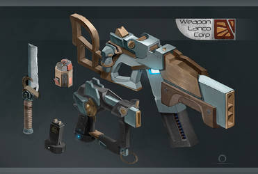 Weapon Lanco Corporation by SatenkoDmitry