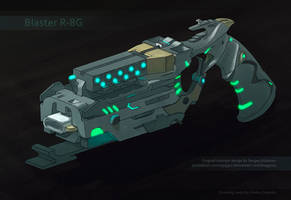 Blaster R-8G (made by concept) by SatenkoDmitry