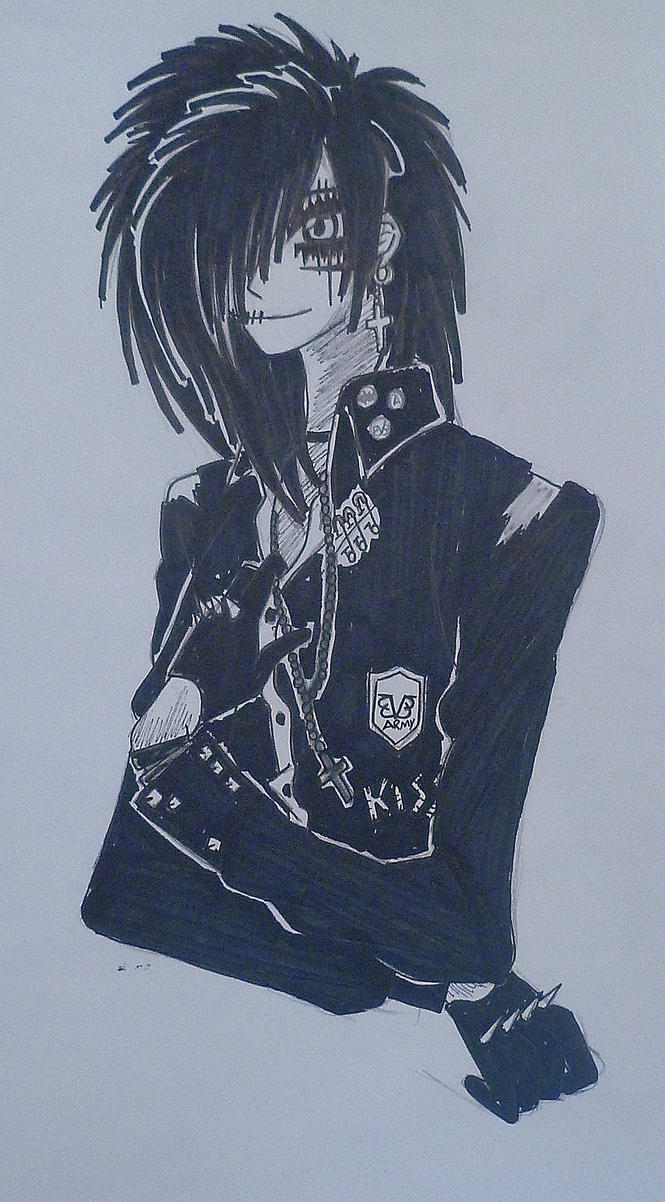 Andy Biersack: III by kittykatc666