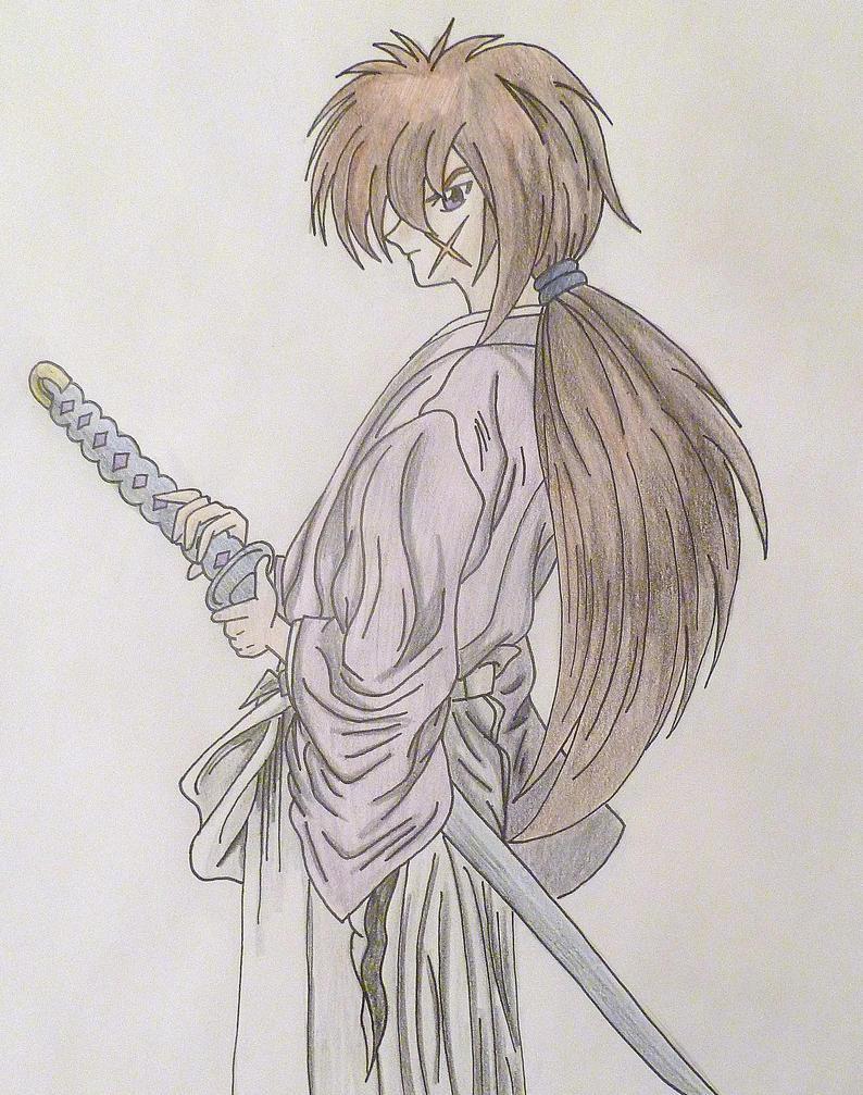 Kenshin Himura II By Kittykatc666