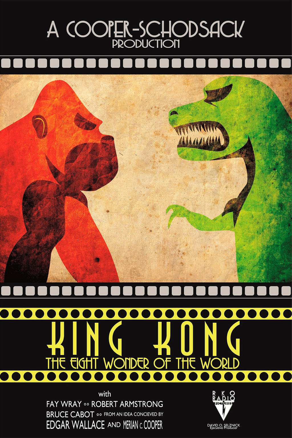 King kong 1933 poster by beirud on deviantart