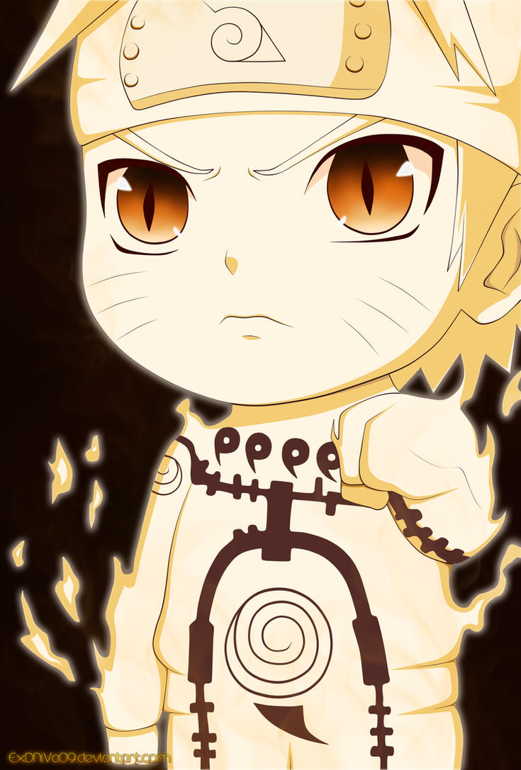 Naruto chibi by ExDNiVa09 on DeviantArt