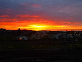 Sunrise in Cologne