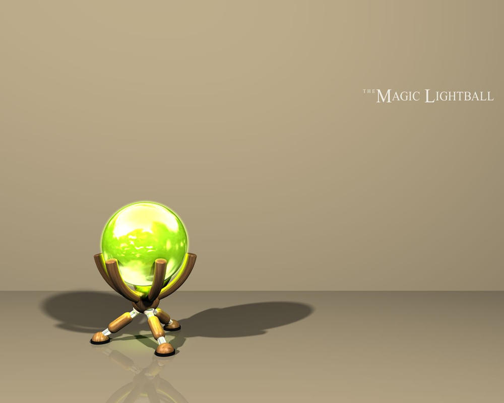The Magic Lightball by zyklophon