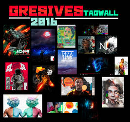 TAGWALL 2016 by Gresives