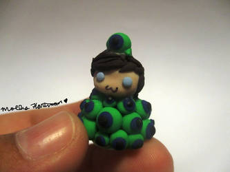 Handmade Clay Jacksepticeye in a pile of Sams  :3 by MollysMiniStuffVPG