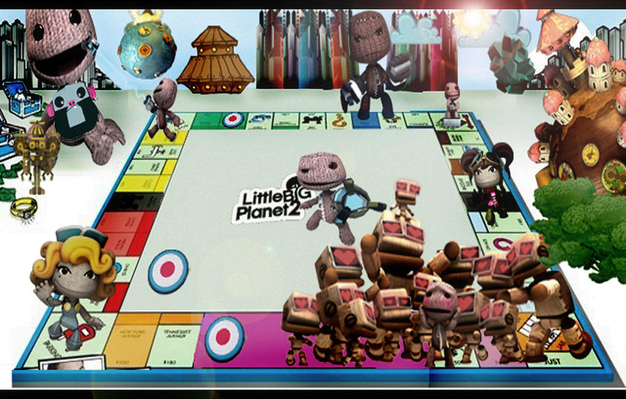 Little Big MONOPOLY by Morkybabes