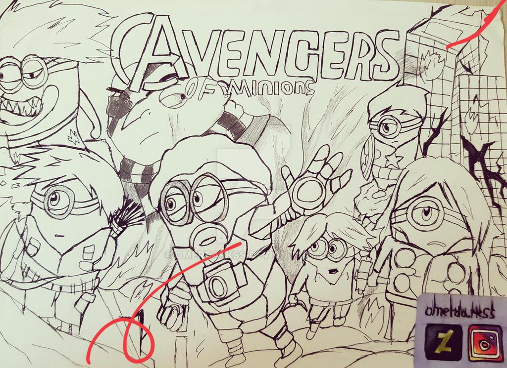 the new Avengers by omerdarkss