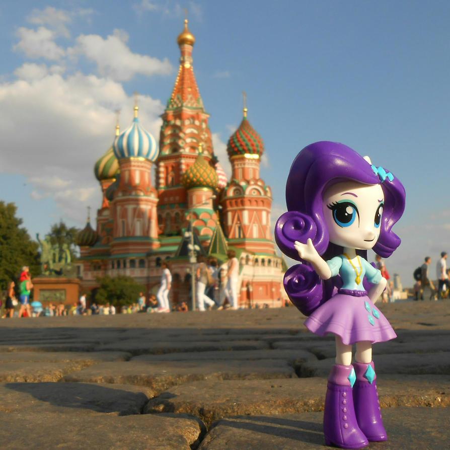 Rarity's Vacation: St. Basil's Cathedral [3] by 7yashka7