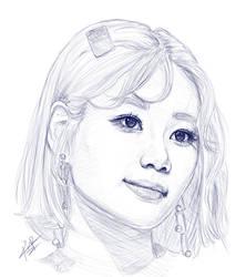 Yuna Sketch by RumR