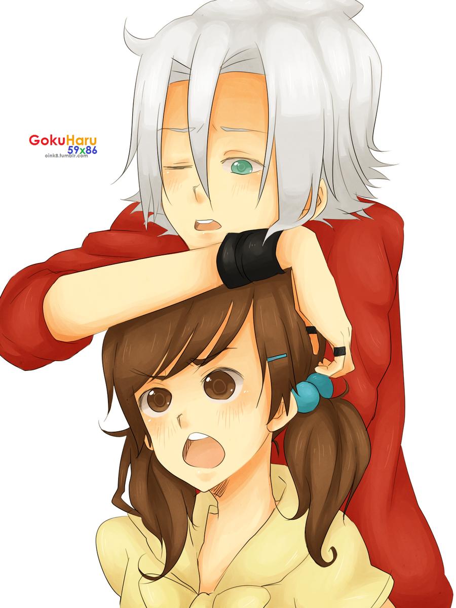 gokuharu: bakadera's bored by invaderk8