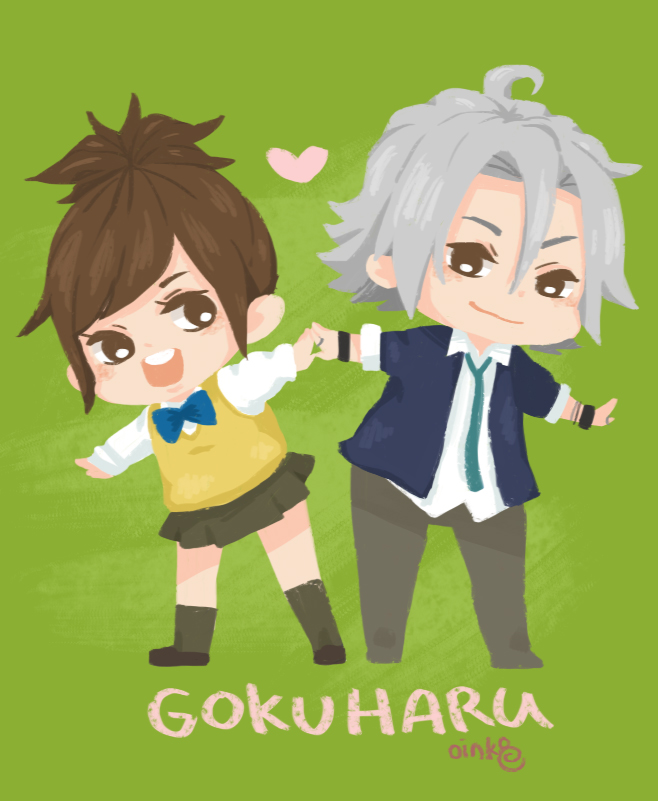 GokuHaru by invaderk8