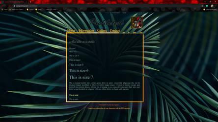 Gold Dark Jungle RPR template for sale