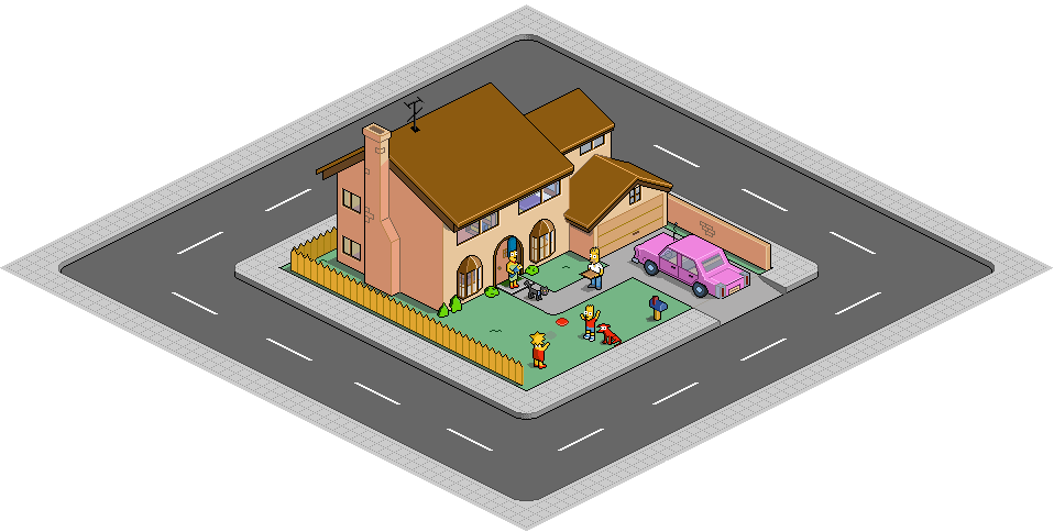 742 evergreen terrace pixeldam by mrhaki on deviantart for Evergreen terrace 742