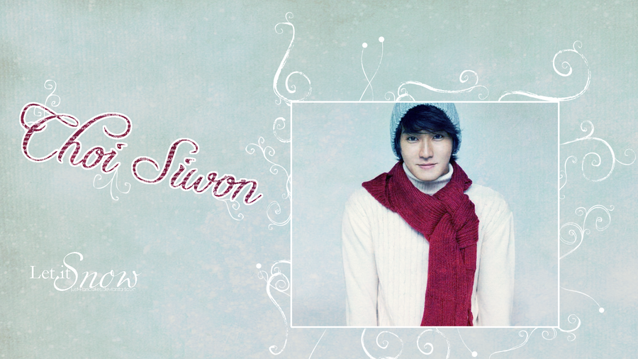 Choi Siwon Wallpaper by joiachi on DeviantArt